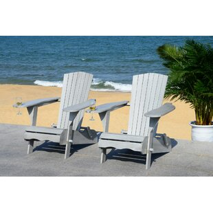 Boonville Solid Wood Adirondack Chair (Set of 2)