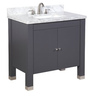 Inexpensive Riley 36 Single Bathroom Vanity Set By Kitchen Bath Collection