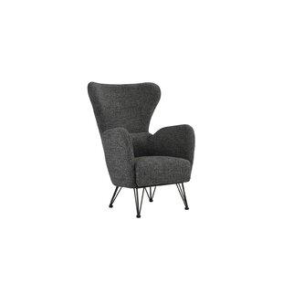 Buy luxury Mcintyre Wingback Chair ByWrought Studio