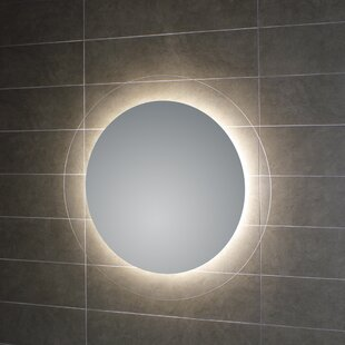 Top Reviews Geometrie Lighted LED Wall Mirror By WS Bath Collections