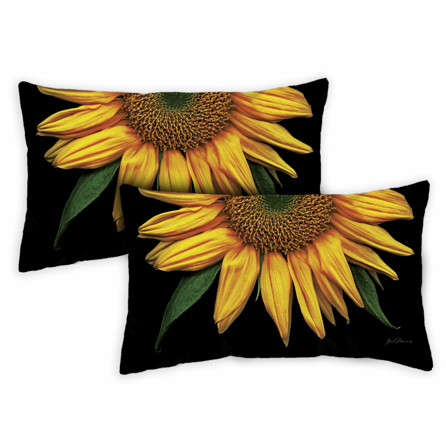 Toland Home Garden Sunflowers Lumbar Pillow Wayfair