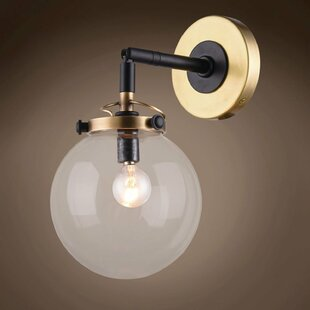 Chairez 1-Light Armed Sconce b..
