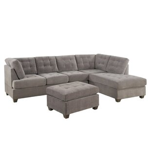 Keeter Reversible Sectional with Ottoman