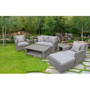 Red Barrel Studio Harvey 5 Piece Sofa Set with Cushions