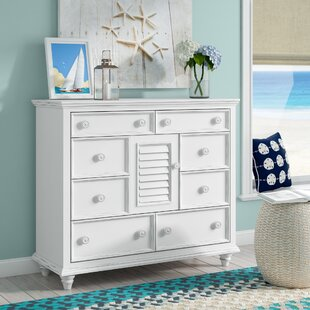 Beachcrest Home Addison 8 Drawer Combo Dress..