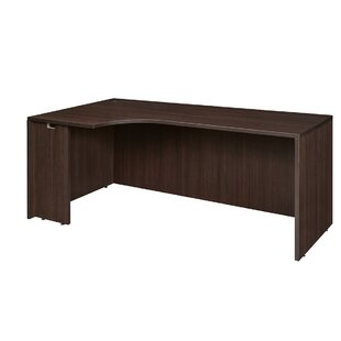 Linh Corner Desk Shell by Latitude Run Bargain