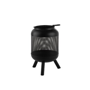 Makowski Steel Charcoal Fire Pit By Sol 72 Outdoor