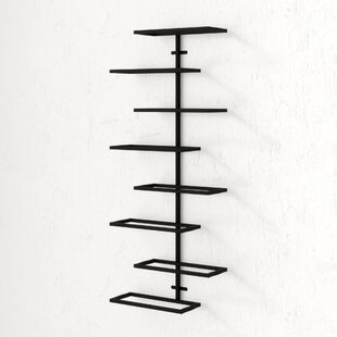 Wynkoop 8 Bottle Wall Mounted Wine Rack
