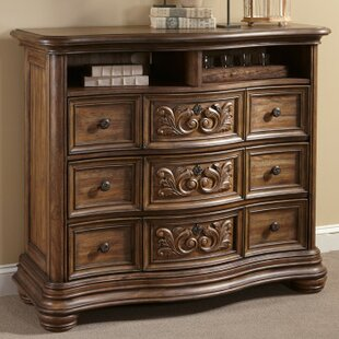 Fleur De Lis Living Alderwood 3 Drawer Media..