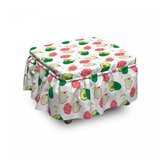 Healthy Harvest Produce Ottoman Slipcover (Set of 2) by East Urban Home