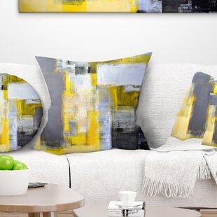 Abstract Blur Pillow