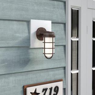 Tressa 1-Light Outdoor Bulkhead Light