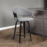 Ebern Designs Swivel 26 Counter Stool by Ebern Designs