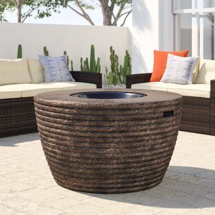 Birrell Stainless Steel Propane/Natural Gas Fire Pit Table by Bayou Breeze Great price