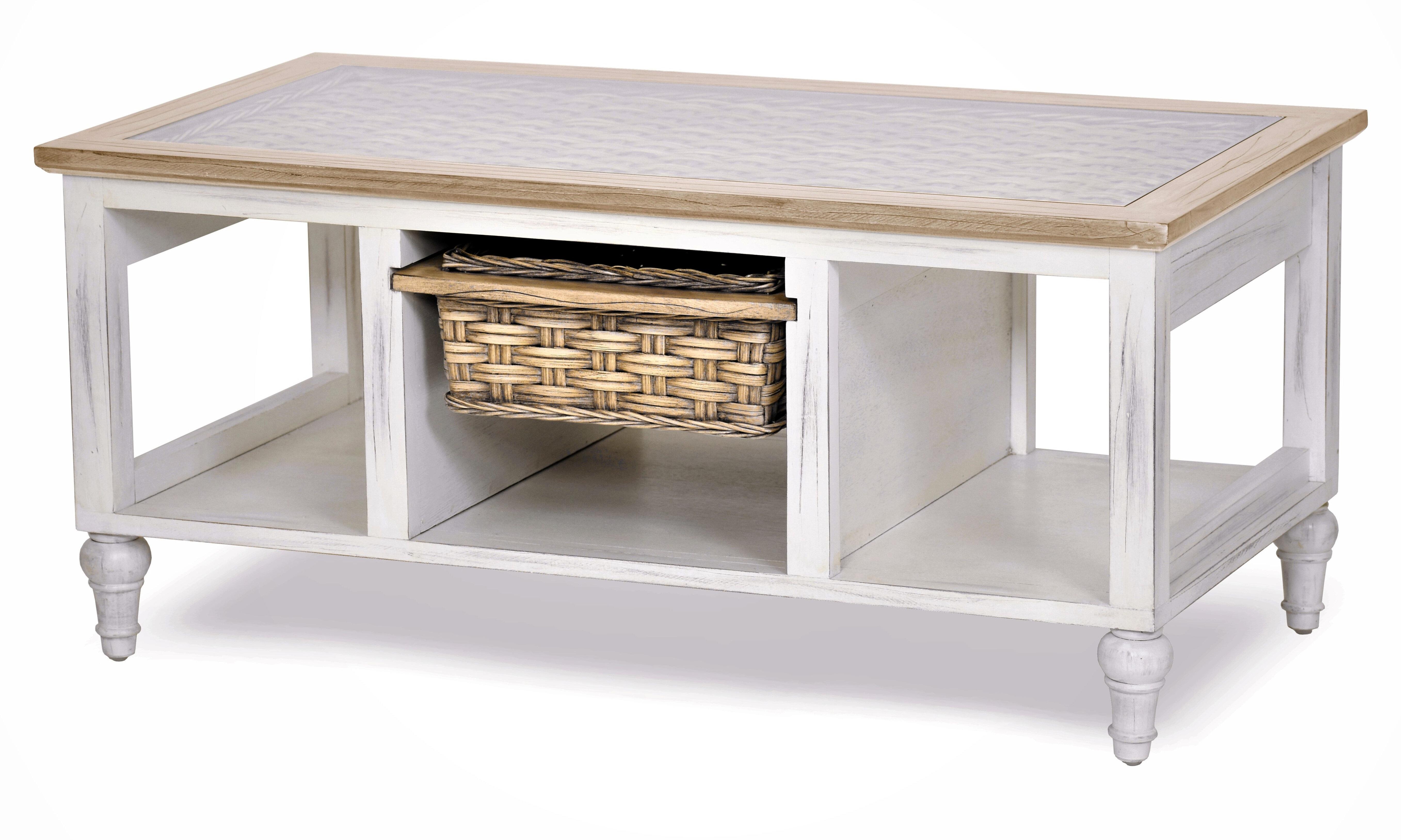 Bay Isle Home Eversole Coffee Table With Storage Wayfair