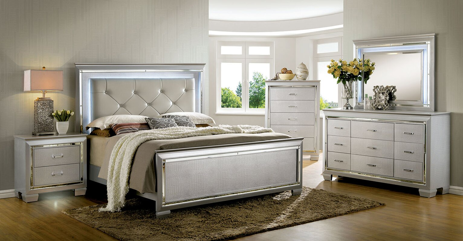 bedroom furniture images. Bokan Lake Platform Configurable Bedroom Set Furniture Images I