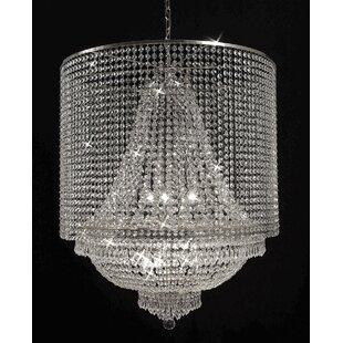 Montana 9-Light Crystal Pendant by House of Hampton