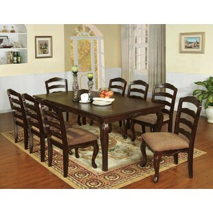Mel 9 Piece Drop Leaf Dining Set by Canora Grey