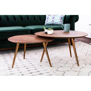 Sandisfield 2 Piece Coffee Table Set