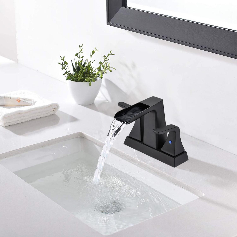 Karwors Juliet Widespread Bathroom Faucet With Drain Assembly Wayfair