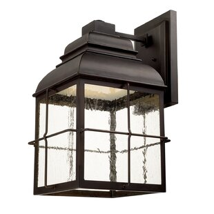 Compare prices Pinedale 4-Light Outdoor Wall Lantern By Breakwater Bay