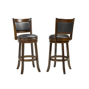 Karasel 29 Swivel Bar Stool (Set of 2) by Red Barrel Studio