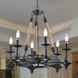 Gracie Oaks Eastcotts 6-Light Chandelier