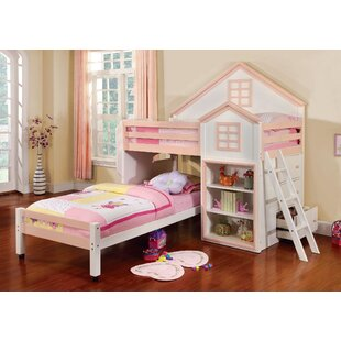 Stewart House Twin Loft Bunk Bed