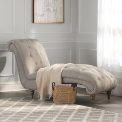Lark Manor Versailles Living Room Chaise Lounge Reviews