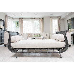 Falk Fabric Bench with Mattress