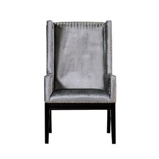 Stocksbridge Wingback Chair by Everly Quinn Fresh