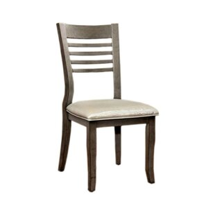 Afreena Solid Wood Dining Chair (Set of 2..