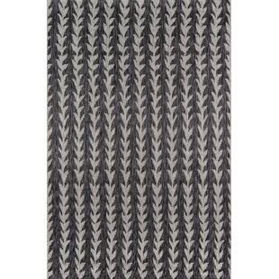 Amalfi Charcoal Indoor/Outdoor Area Rug