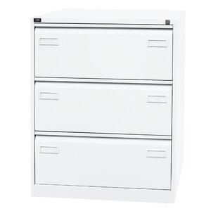 Light 3 Drawer Filing Cabinet By Bisley