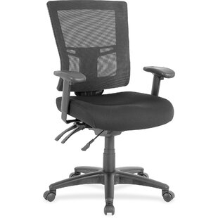 Lorell Swivel Mid-Back Mesh Desk Chair