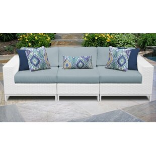 Check Out Miami Patio Sofa with Cushions Purchase Online