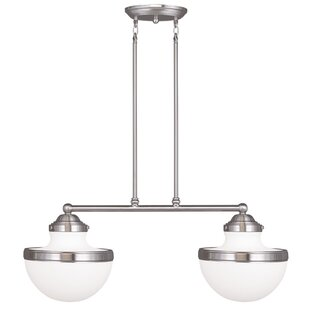 Myers 2-Light Kitchen Island Pendant by Andover Mills