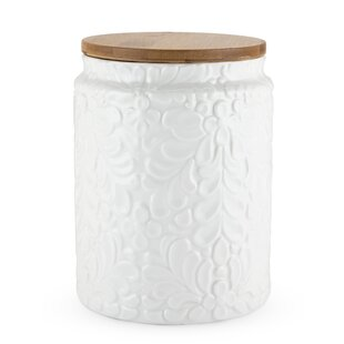 Pantry Textured Ceramic Kitchen Canister