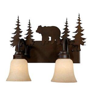 Purchase Jensen 2-Light Vanity Light ByLoon Peak