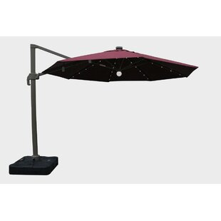 Brayden Studio Markowitz 11.5' Lighted Umbrella