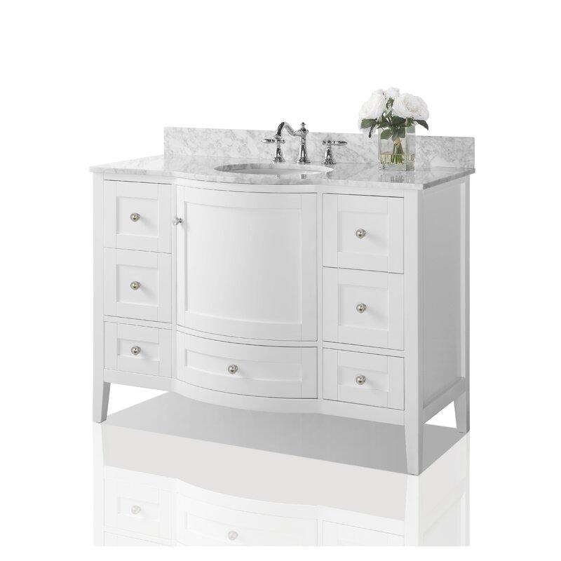 Ancerre Designs Lauren 48 Single Bathroom Vanity Set Reviews Wayfair