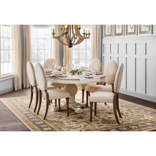 Antonie Oval Upholstered Dining Chair (Set of 2) by One Allium Way