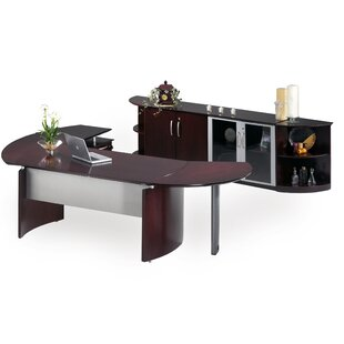 Napoli Series 2-Piece Desk Office Suite by Mayline Group No Copoun