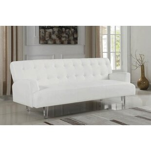 Everly Quinn New Ashford Convertible Sofa