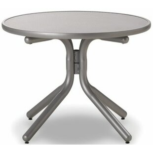 Check Prices Embossed Aluminum 30 inch  Round Chat Table Good purchase