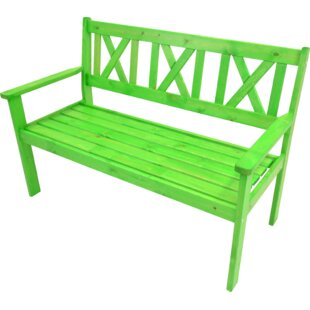 Wooden Bench By Lesli Living