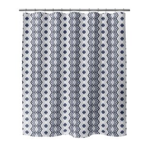 Read Reviews Hodnett Shower Curtain ByBungalow Rose