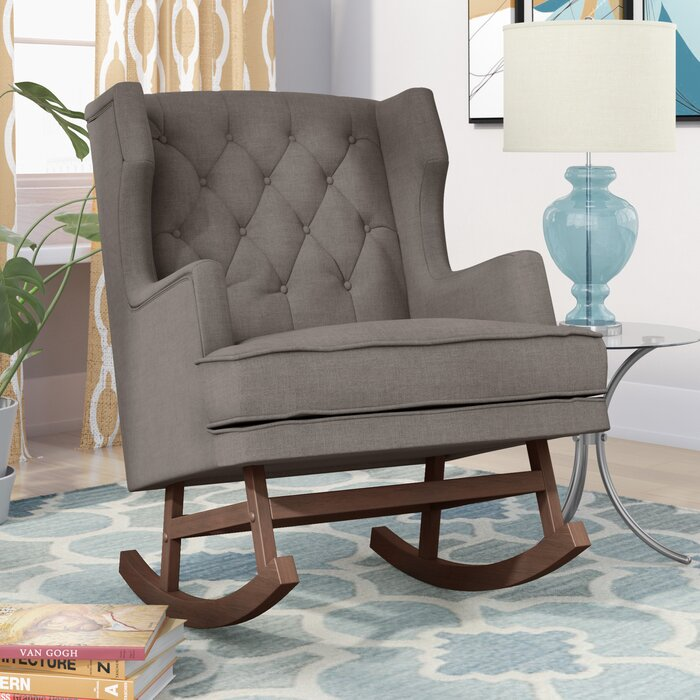Enjoyable Myrna Rocking Chair Pabps2019 Chair Design Images Pabps2019Com