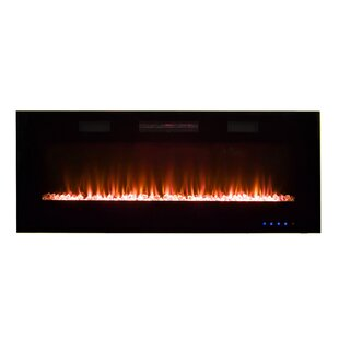 Recessable Wall Mounted Electric Fireplace By Pacific Heat