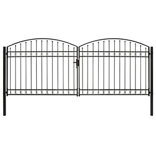 Portico 13' X 6' (4m X 1.8m) Metal Gate By Sol 72 Outdoor